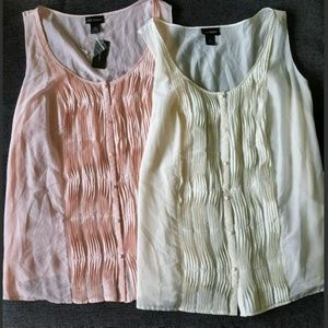 NEW Lot of 2 Lane Bryant Womens Tops SIZE 28  4X